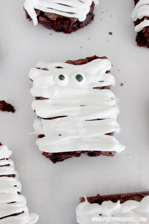 Mummy Brownies | Writing Between Pauses