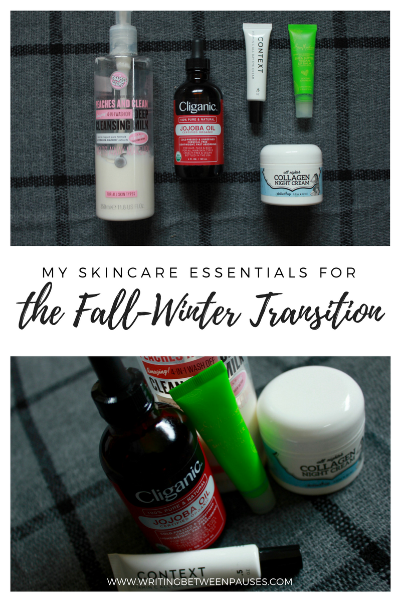 My Skincare Essentials for the Fall-Winter Transition | Writing Between Pauses
