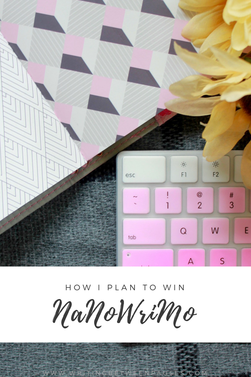 How I Plan to Win NaNoWriMo | Writing Between Pauses