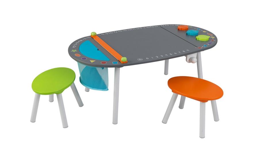 Kids Kraft Chalkboard Table | Writing Between Pauses