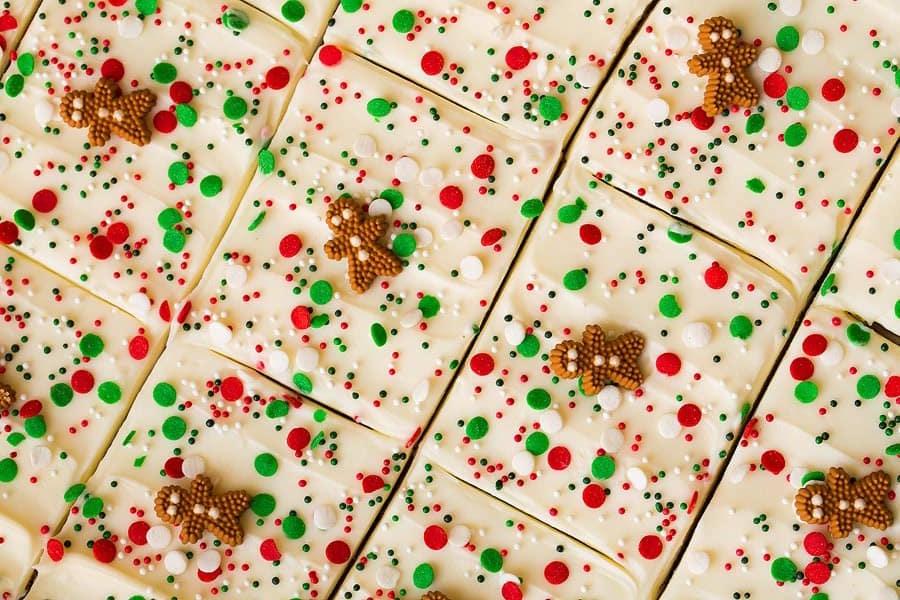 Gingerbread Bars | Writing Between Pauses