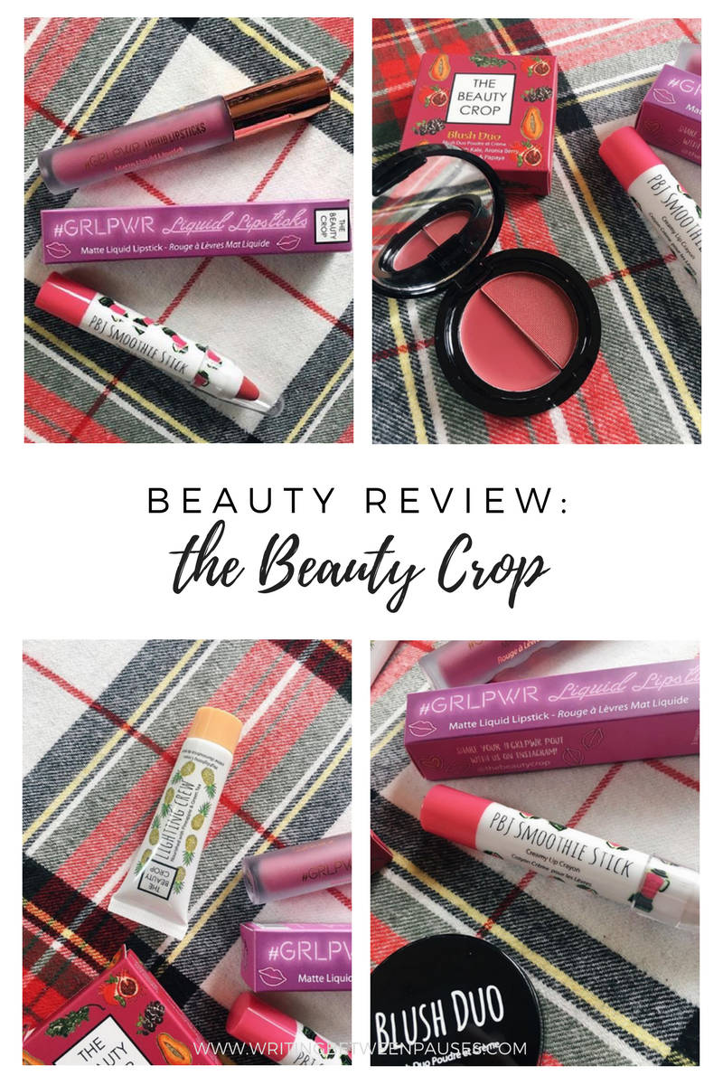 Beauty Review: The Beauty Crop | Writing Between Pauses