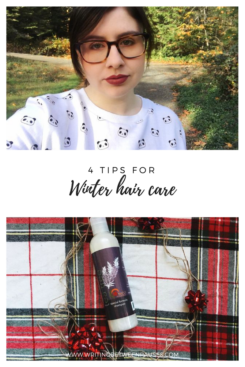 4 Tips for Winter Hair Care | Writing Between Pauses