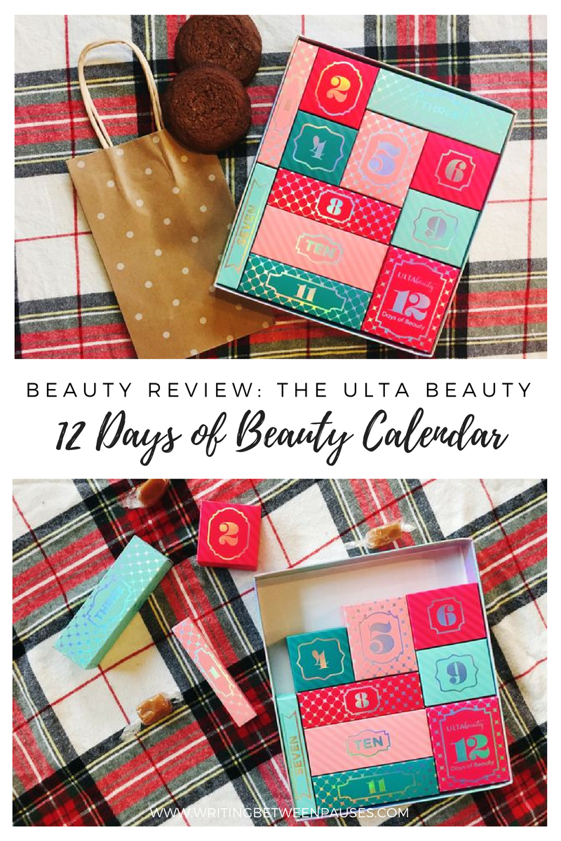 Beauty Review: The Ulta Beauty 12 Days of Beauty Calendar | Writing Between Pauses