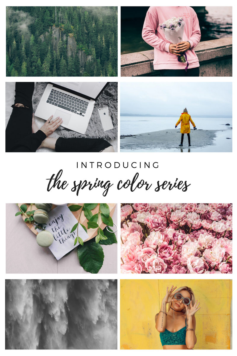 Introducing: The Spring Color Series | Writing Between Pauses