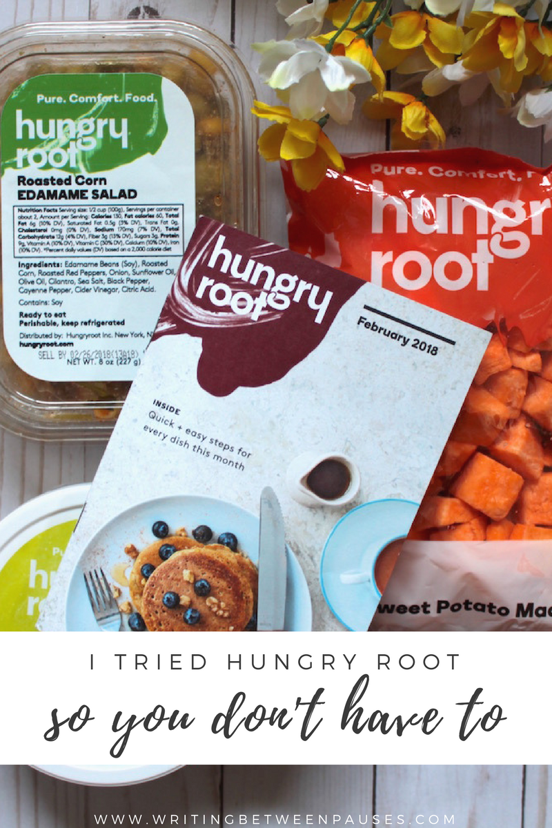 I Tried Hungry Root So You Don't Have To | Writing Between Pauses