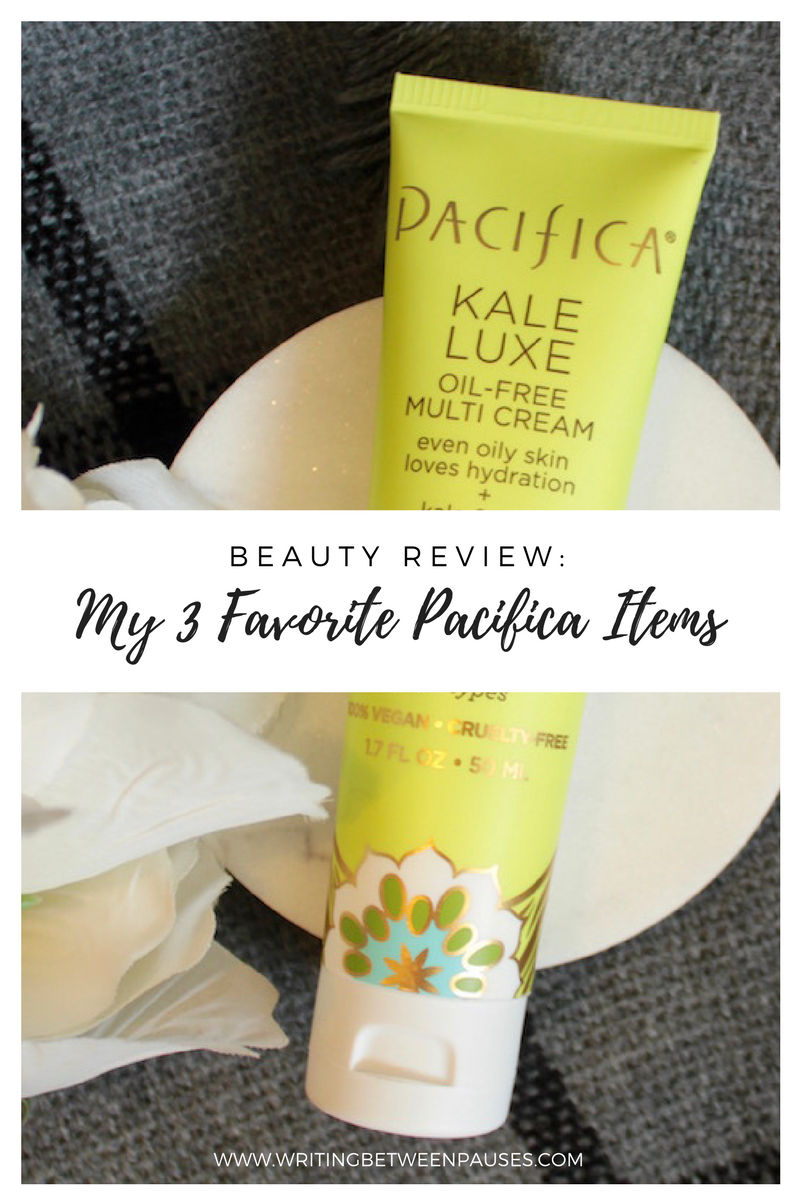 Beauty Review: My 3 Favorite Pacifica Items | Writing Between Pauses