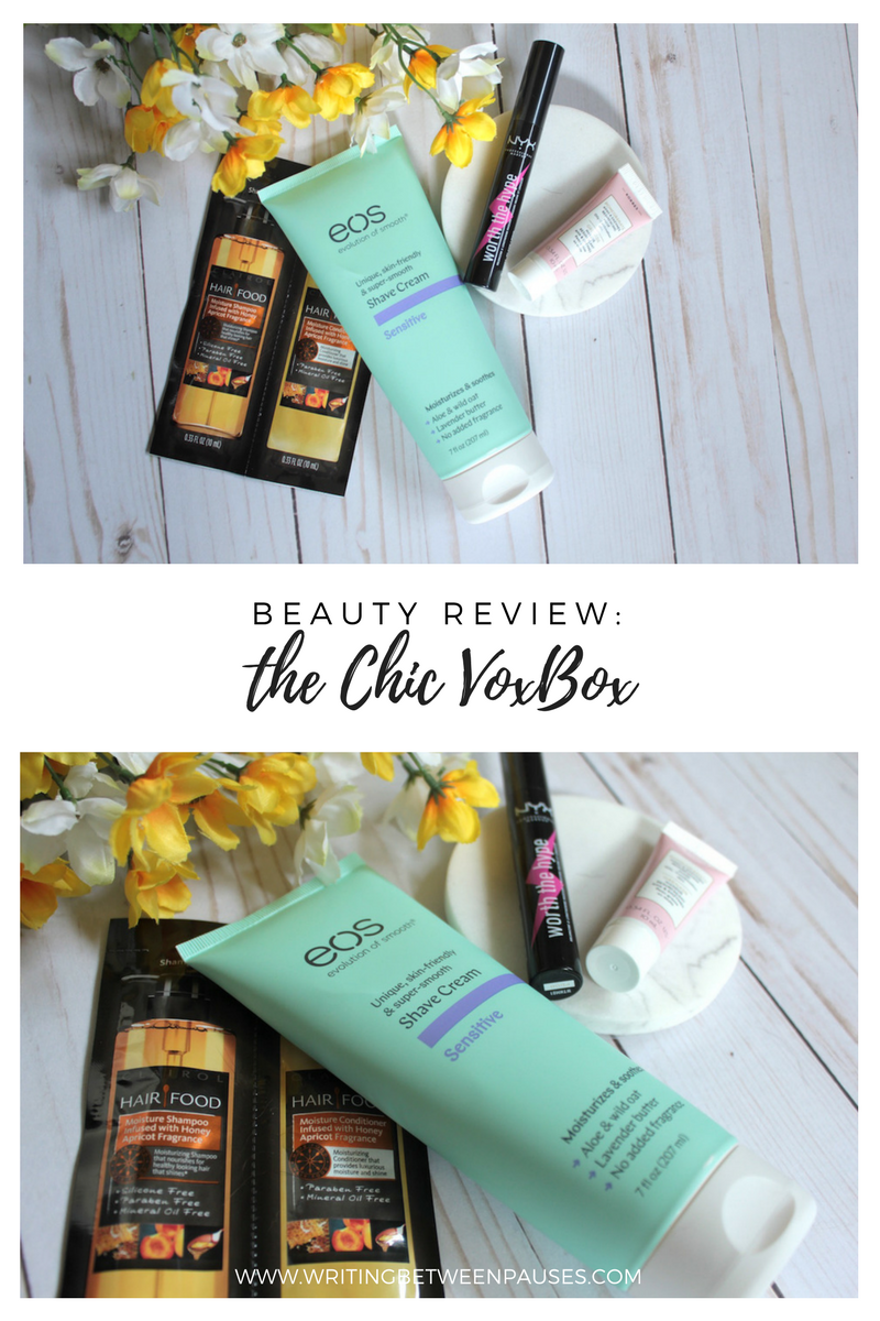 Beauty Review: Chic Voxbox* | Writing Between Pauses