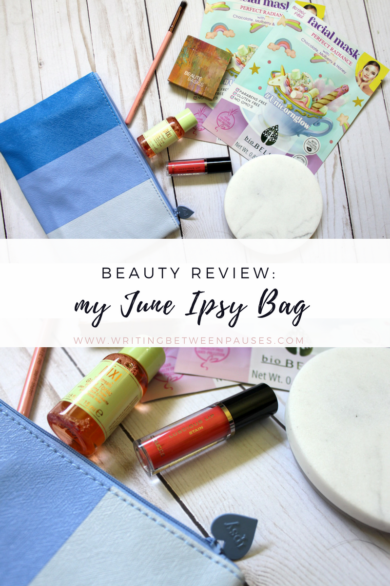Beauty Review: My June 2018 Ipsy Bag