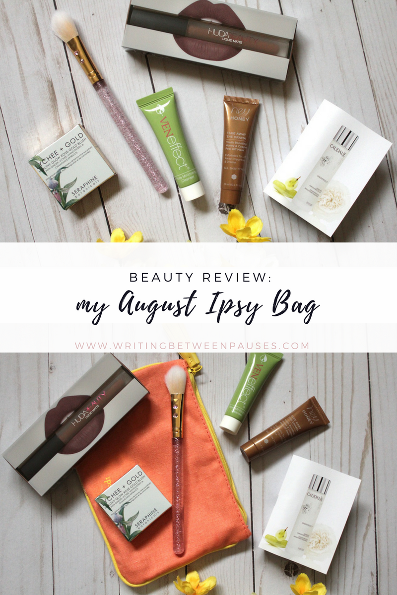 Beauty Review: My August Ipsy Bag | Writing Between Pauses