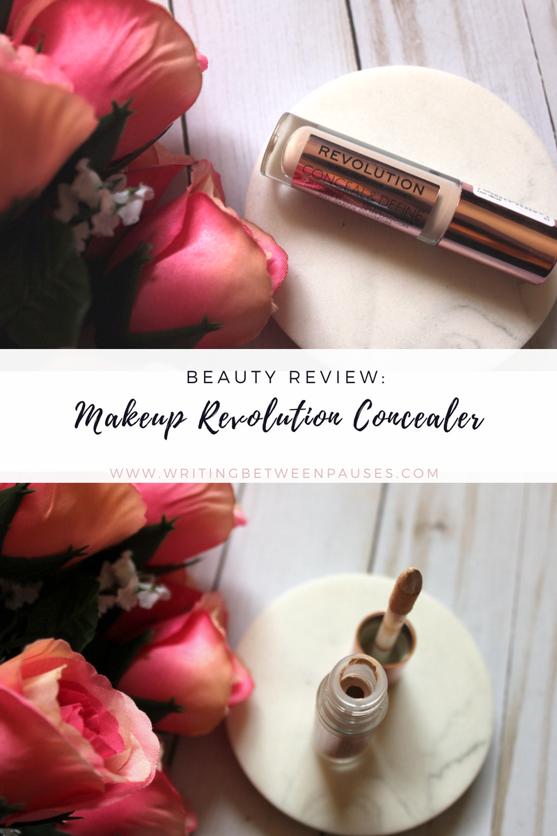 Beauty Review: Makeup Revolution Concealer | Writing Between Pauses