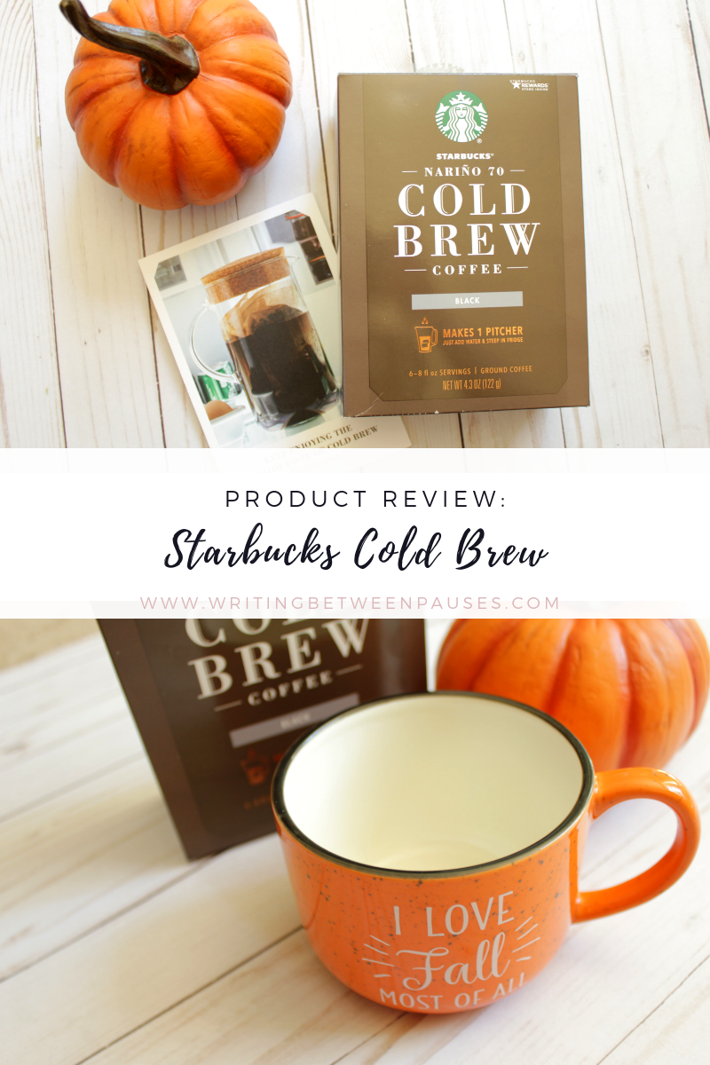 Product Review: Starbucks Cold Brew at Home! | Writing Between Pauses