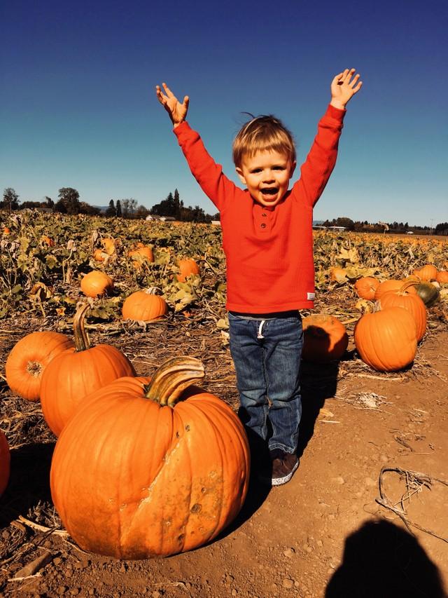 Say Pumpkins!