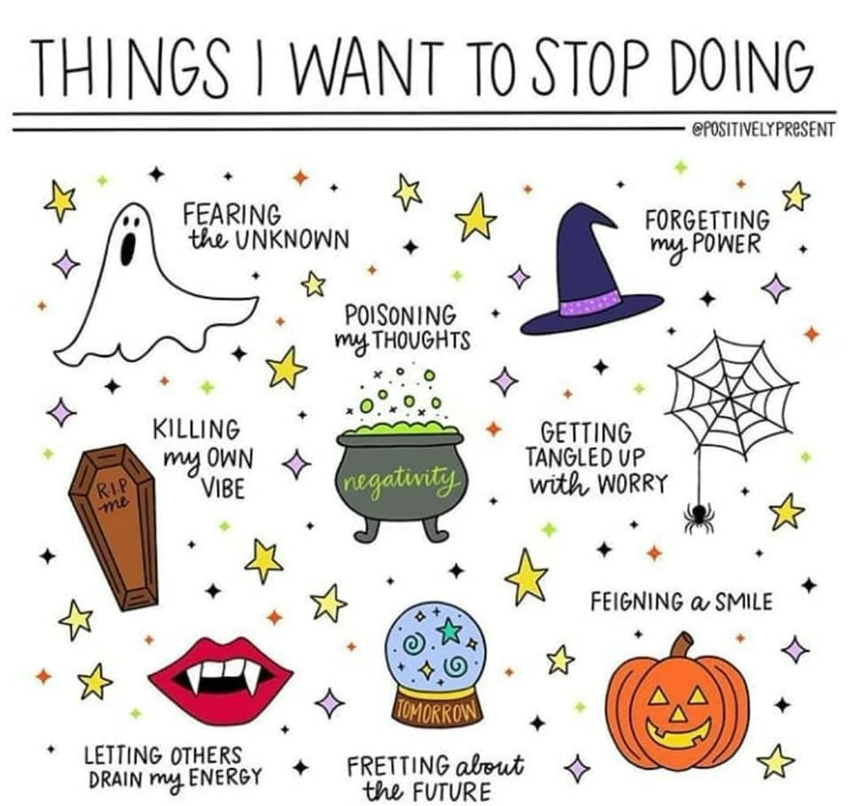 Things I Want to Stop Doing
