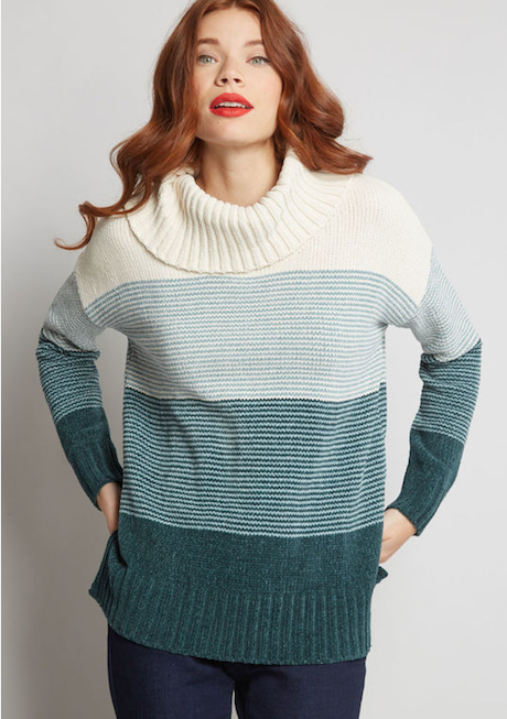 ModCloth Autumn Sweater | Writing Between Pauses