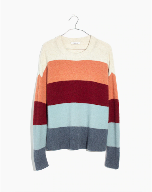 Madewell Autumn Sweater | Writing Between Pauses