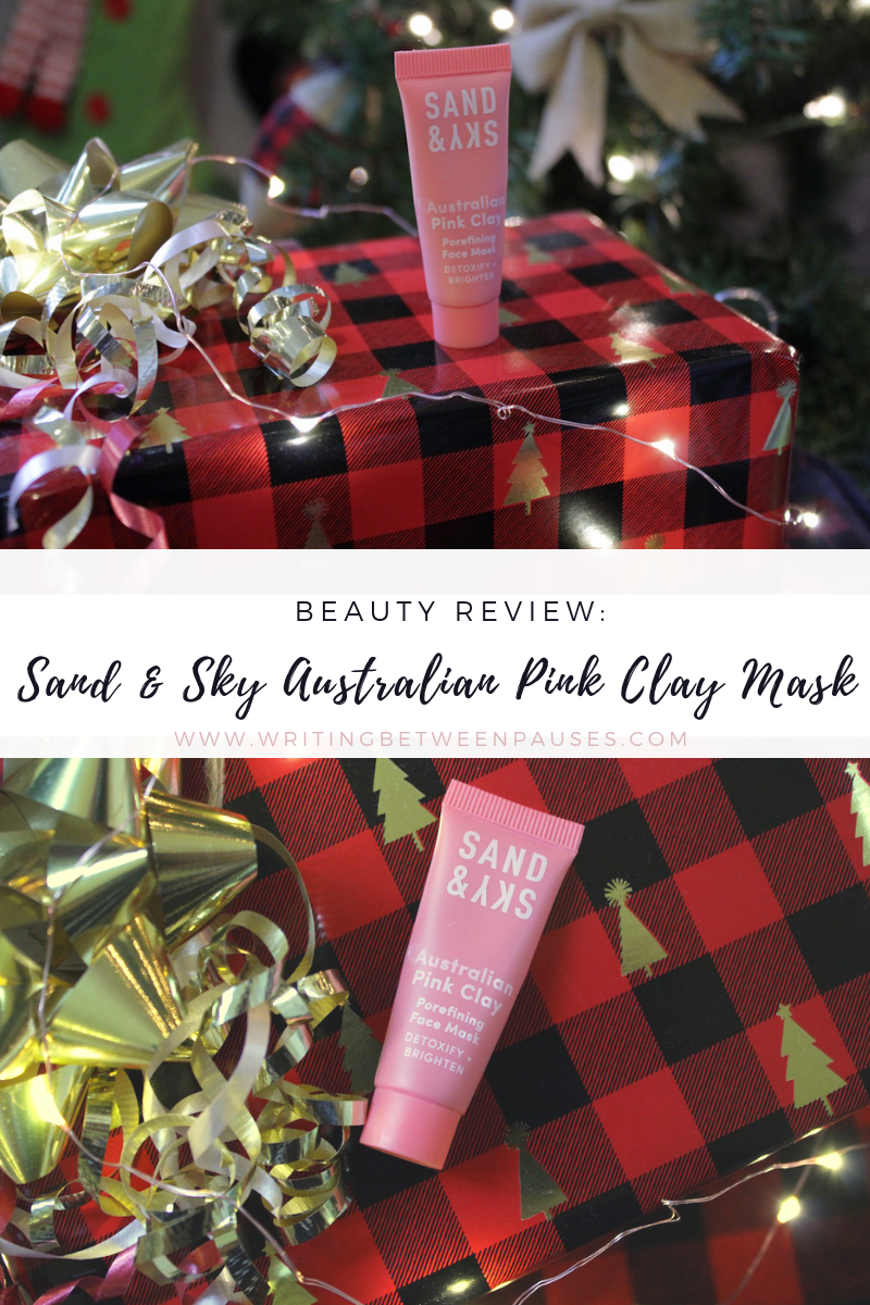 Beauty Review: Sand & Sky Australian Pink Clay Mask | Writing Between Pauses