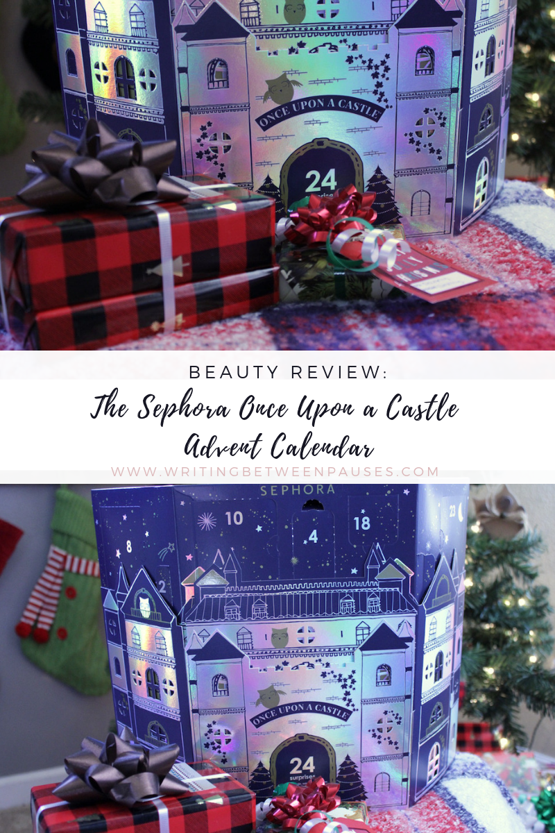 Beauty Review: the Sephora Once Upon a Castle Advent Calendar | Writing Between Pauses
