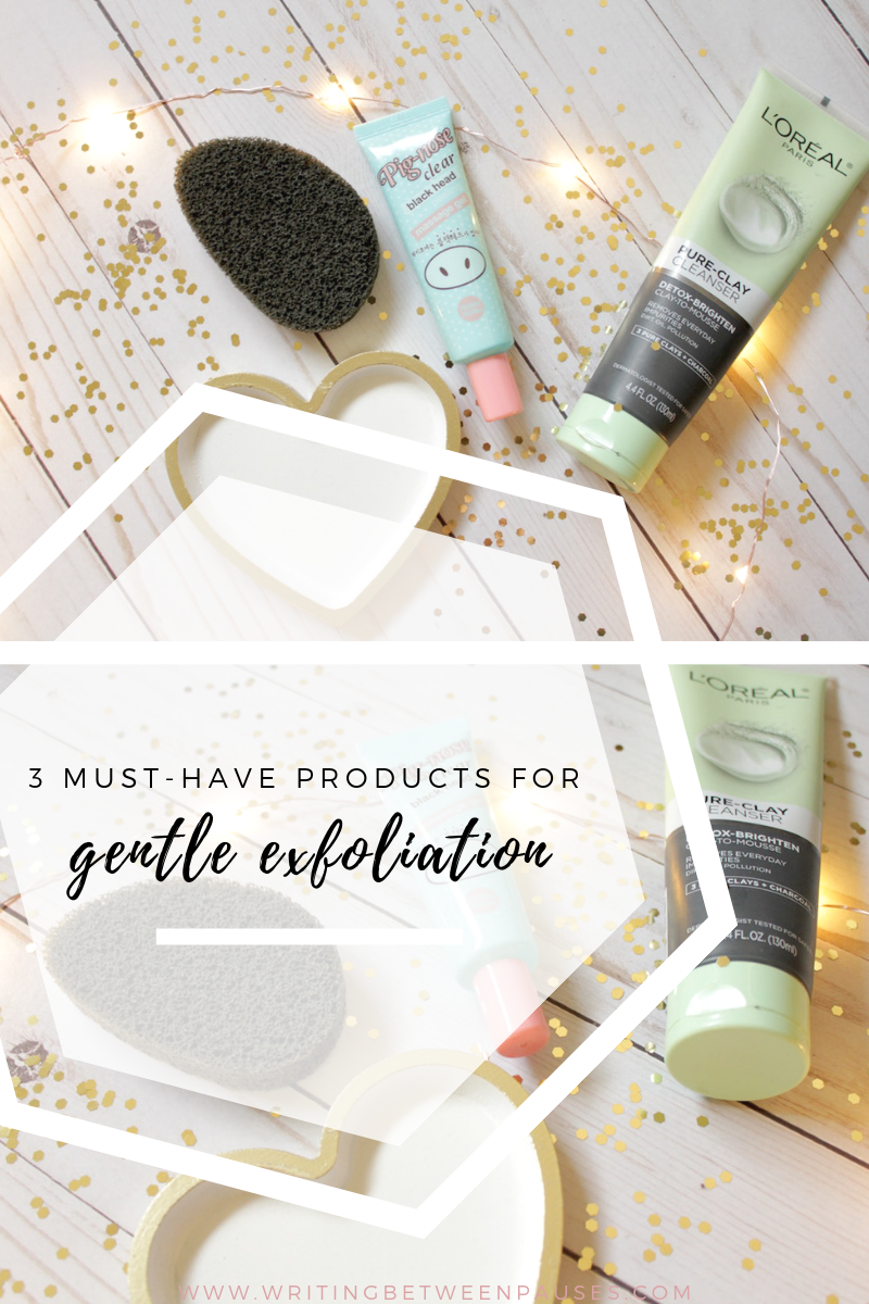 3 Must-Have Products for Gentle Exfoliation | Writing Between Pauses