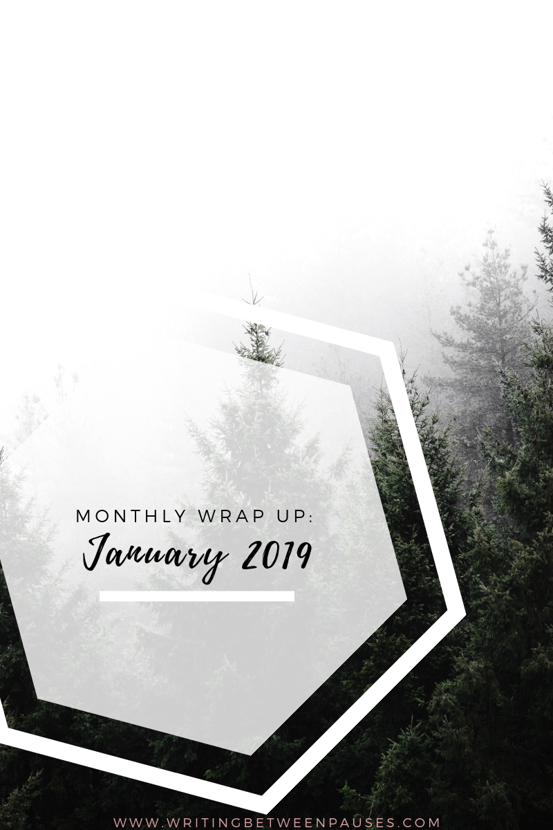 Monthly Wrap Up: January 2019 | Writing Between Pauses