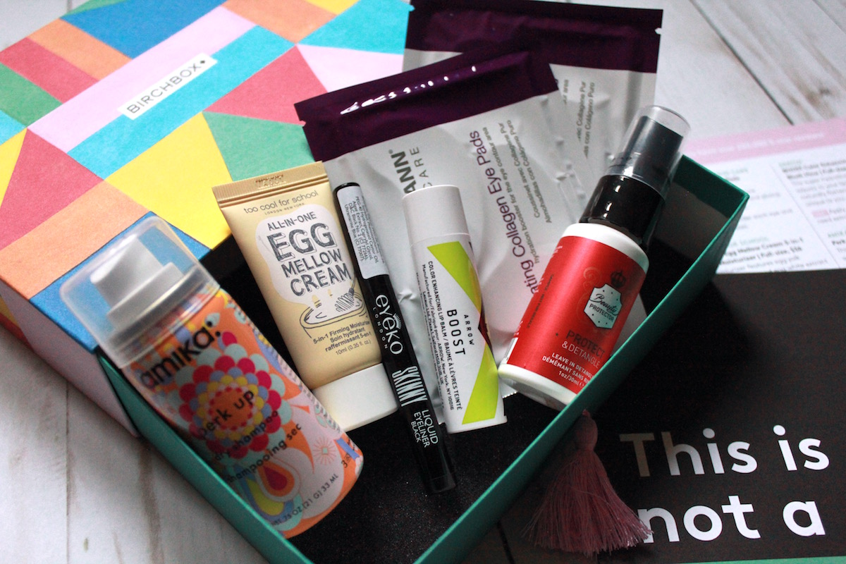 What comes in a Birchbox
