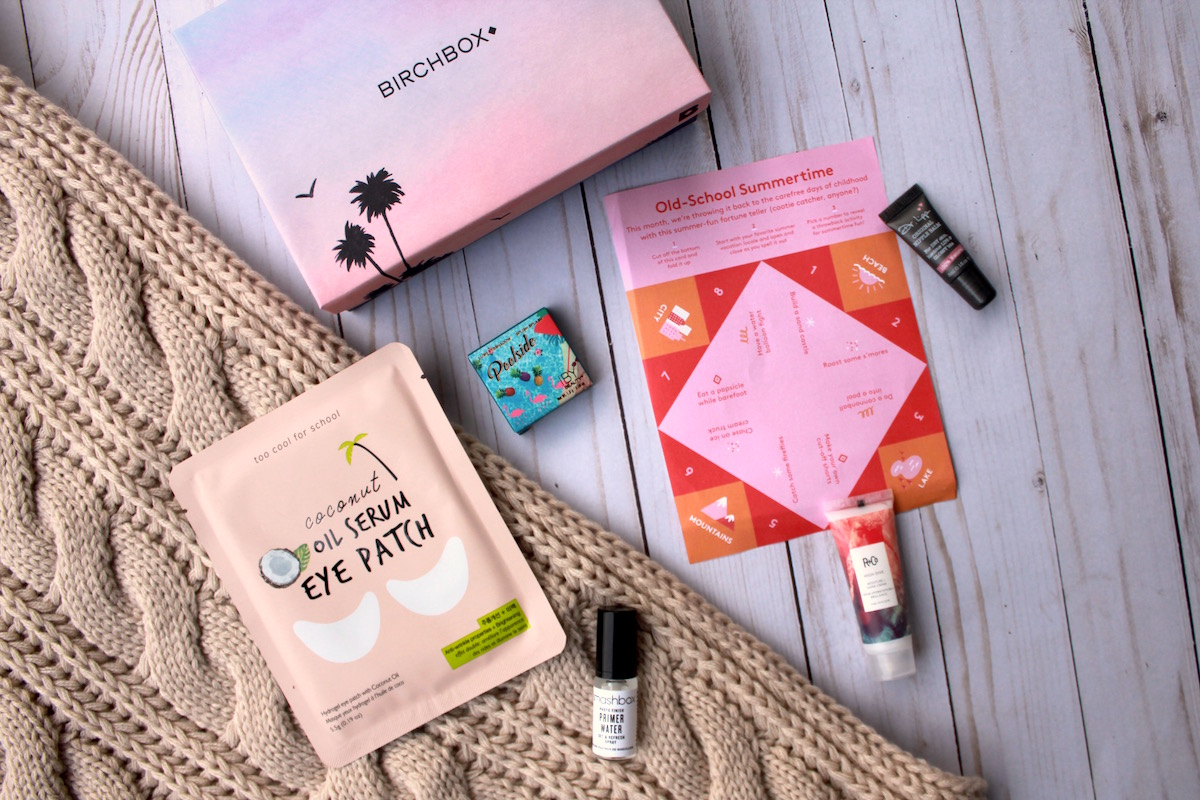 August 2019 Birchbox Value