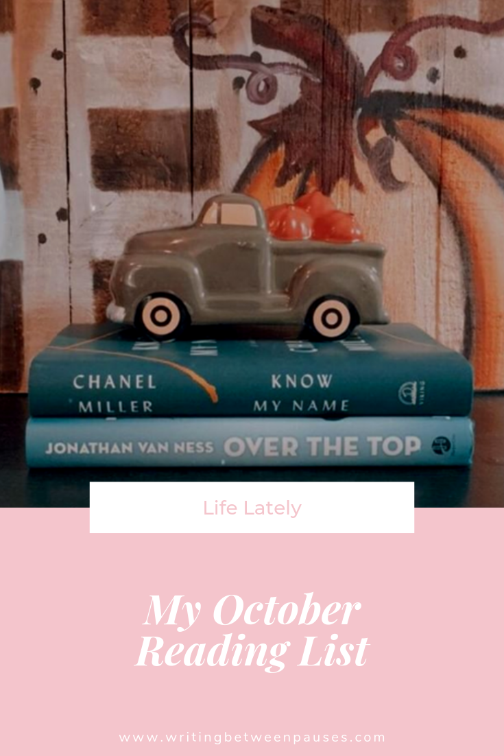 My October Reading List | Writing Between Pauses