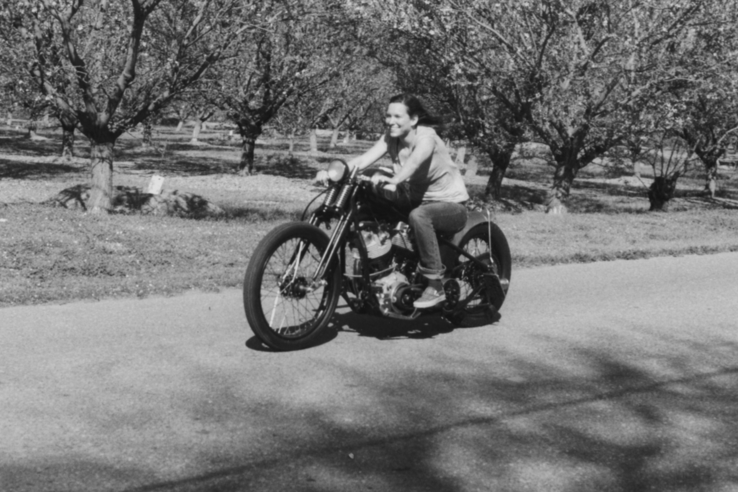 Photo & motorbike property of  Scott Pommier