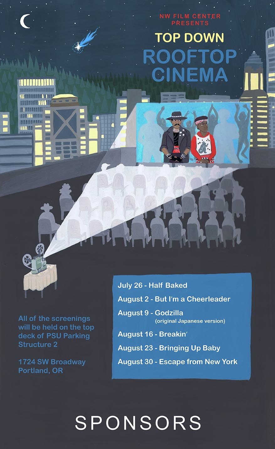 Northwest Film Center Rooftop Screenings