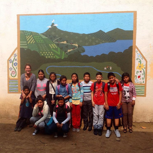 Escuela Proyecto La Esparanza - Jocotenango, Guatemala