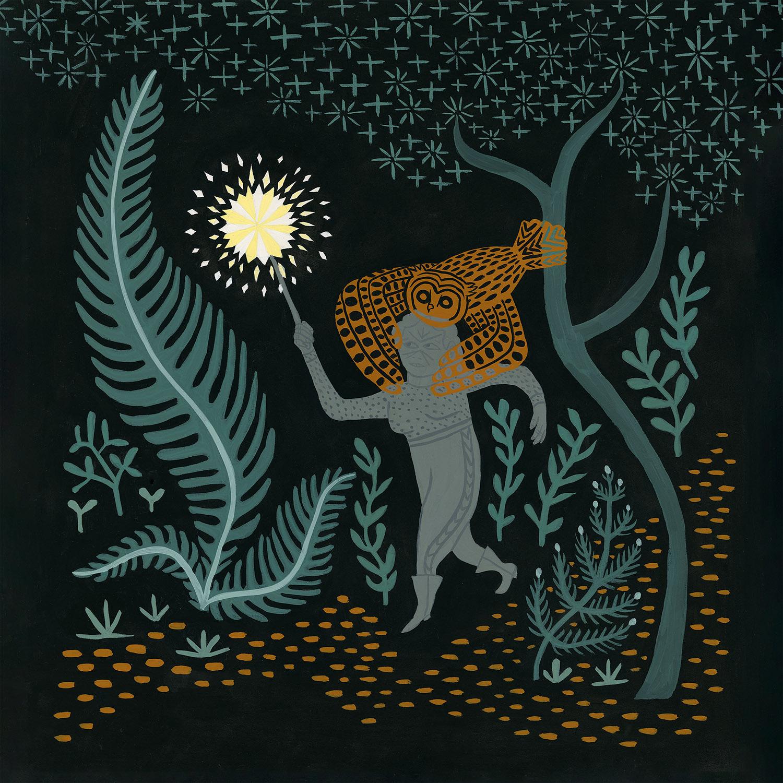 Susanna 'Wilderness' Single Artwork & Limited Edition Screen Print