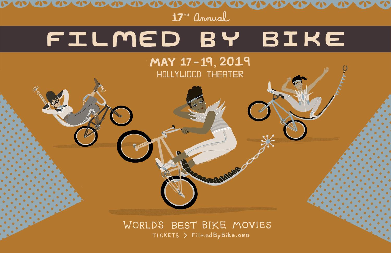 Filmed By Bike Festival Poster