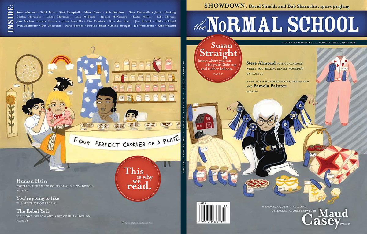 Normal School Cover Illustration & Spots