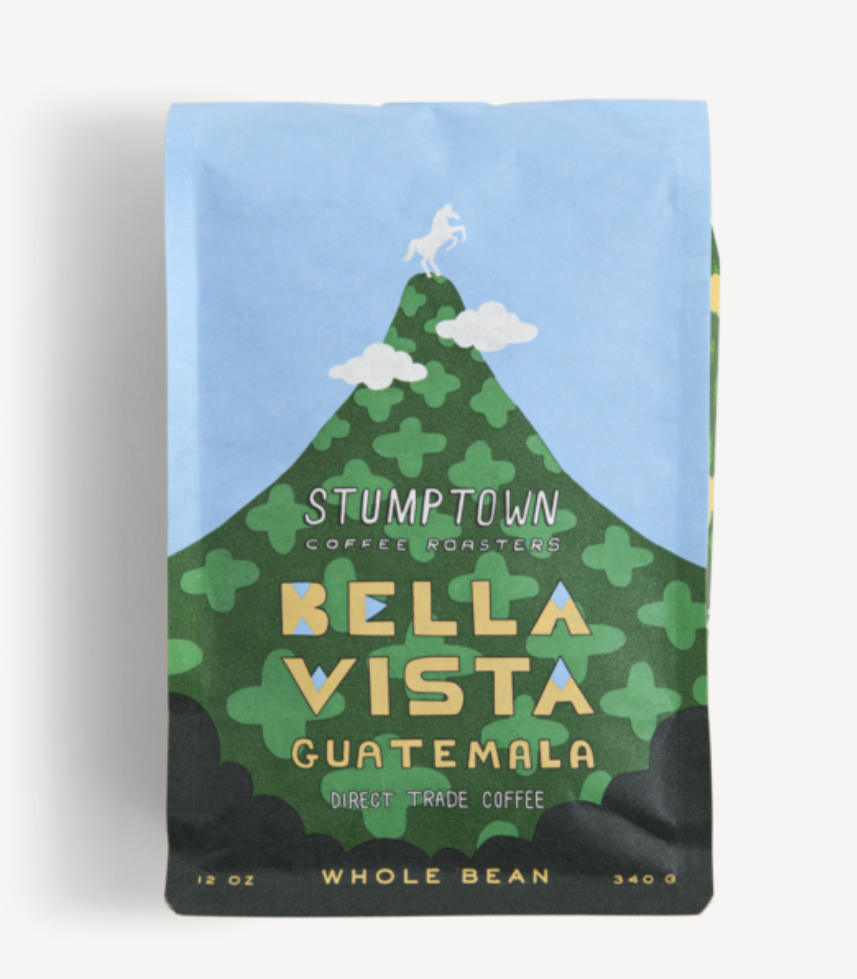 Stumptown Bella Vista Coffee Packaging