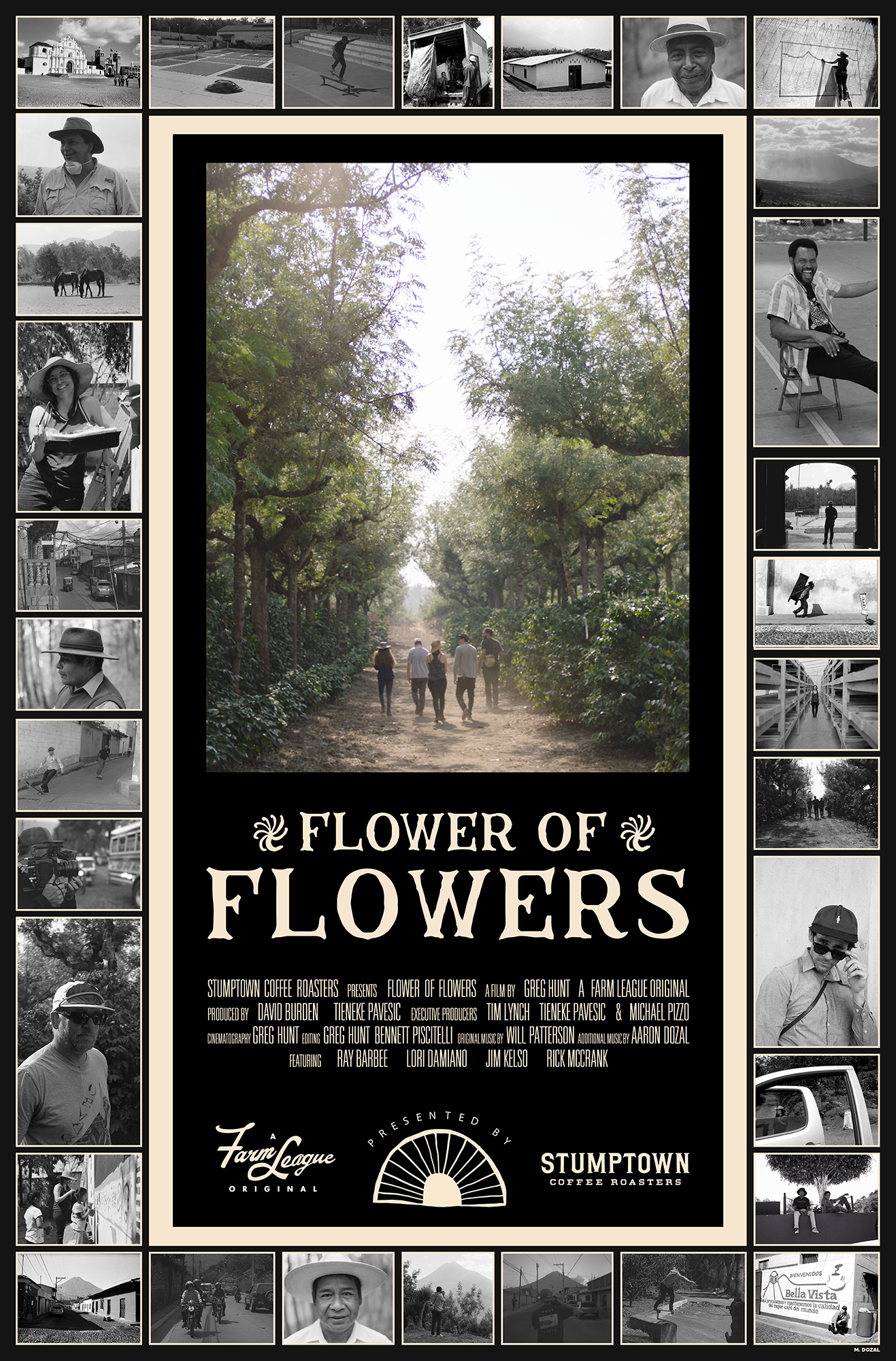 Flower of Flowers poster design by Michael Dozal