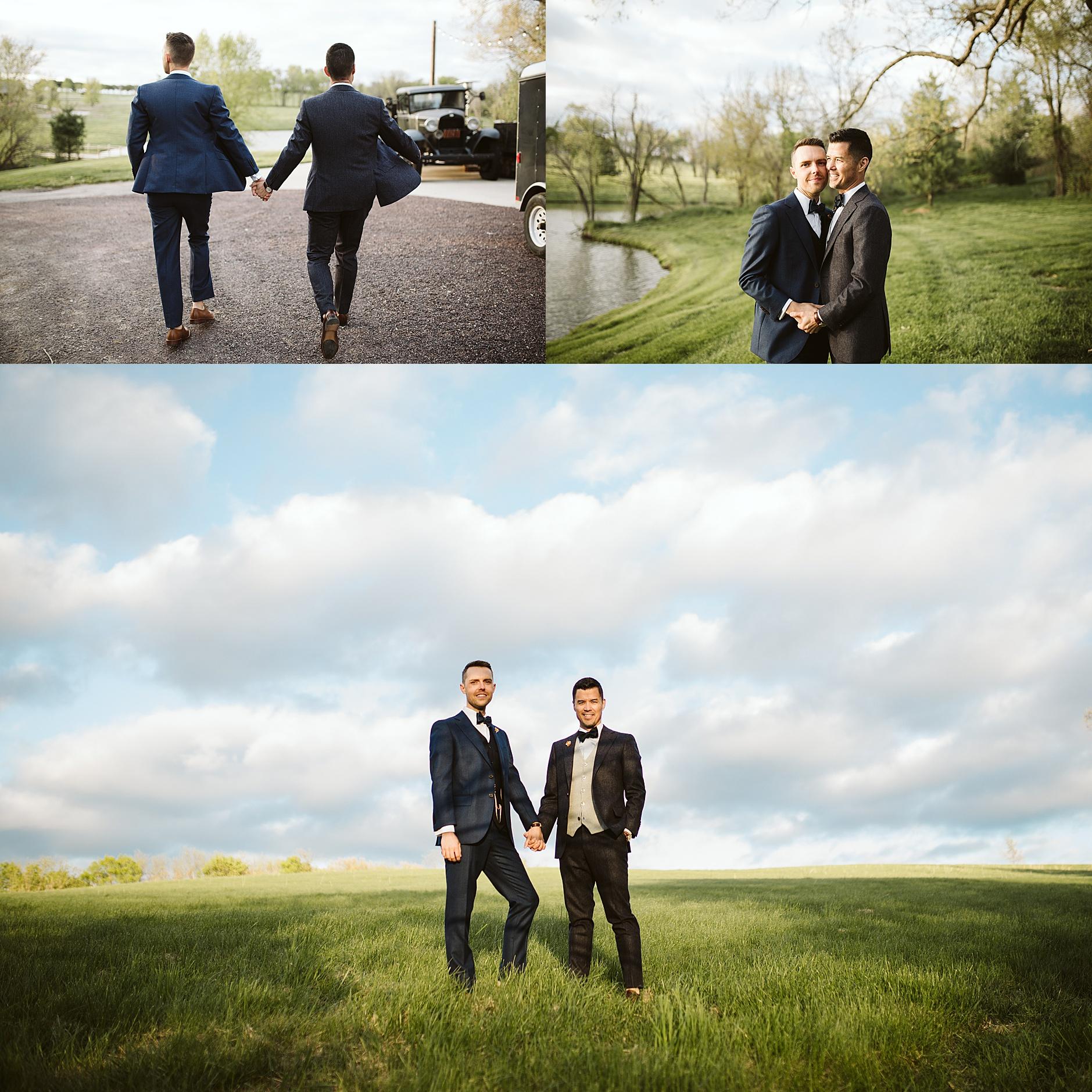 Kansas City Gay Wedding Photographer