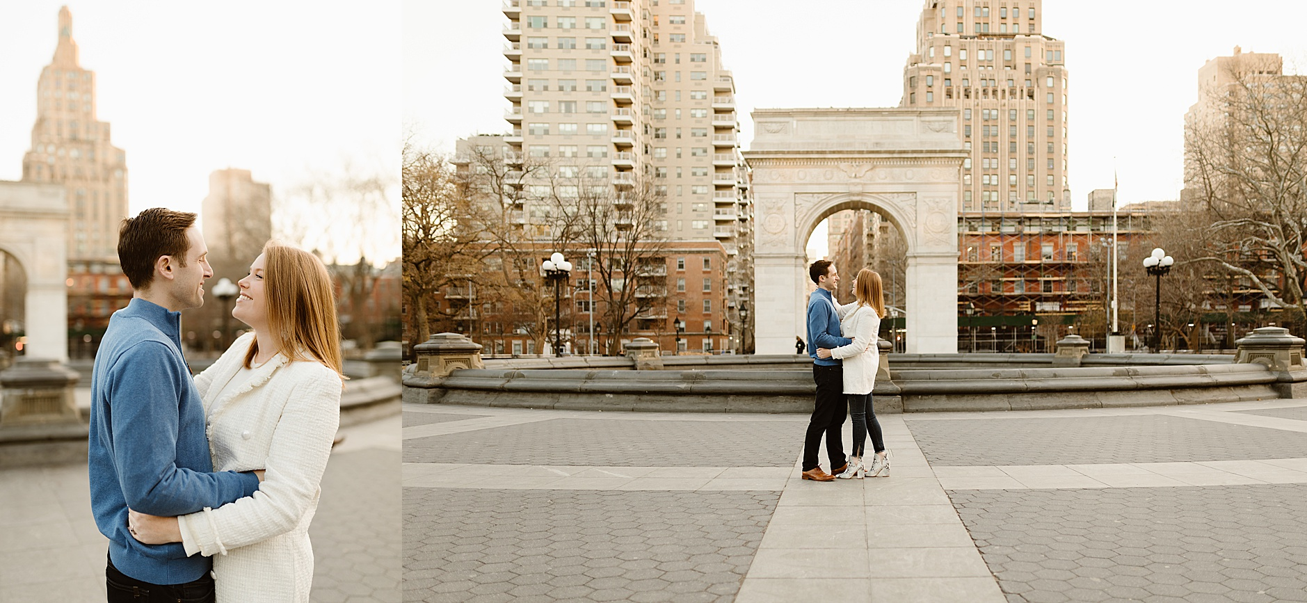 New York City Fall Engagement Session