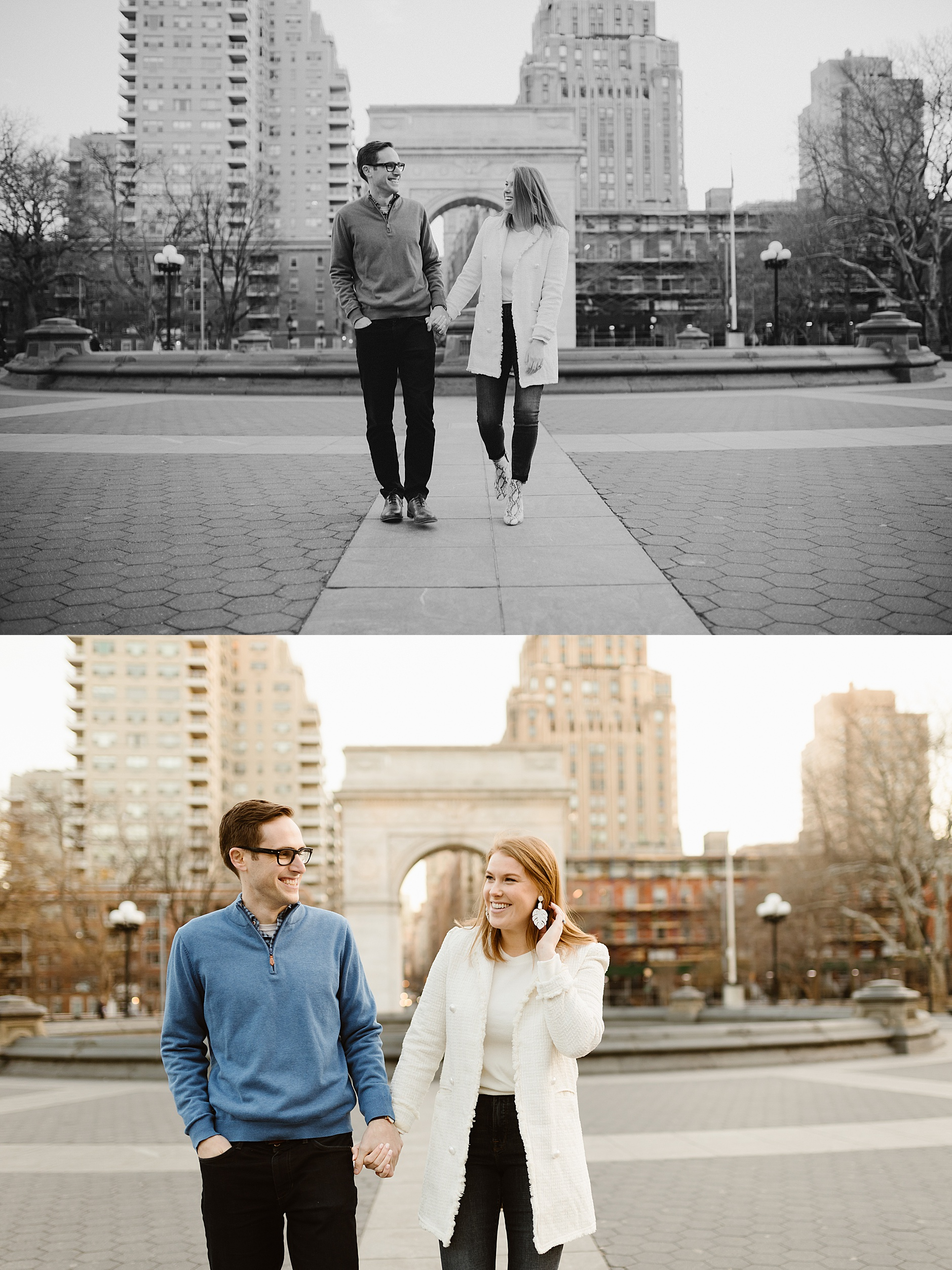 Fall New York City Engagement Photos
