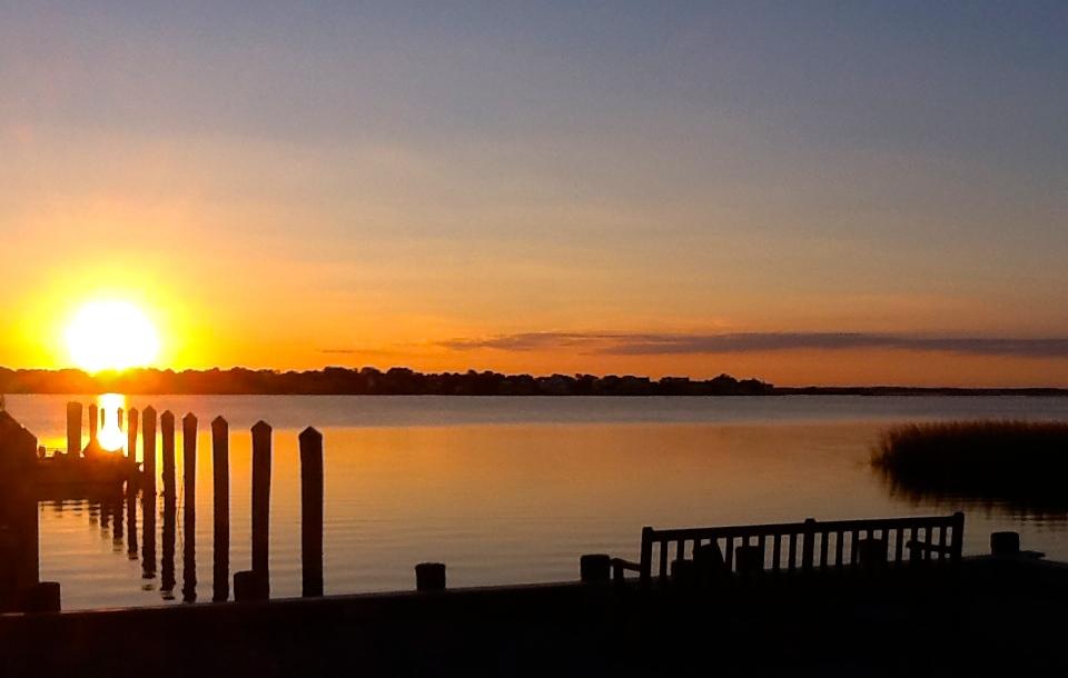 20150712 SBC sunset dock.JPG