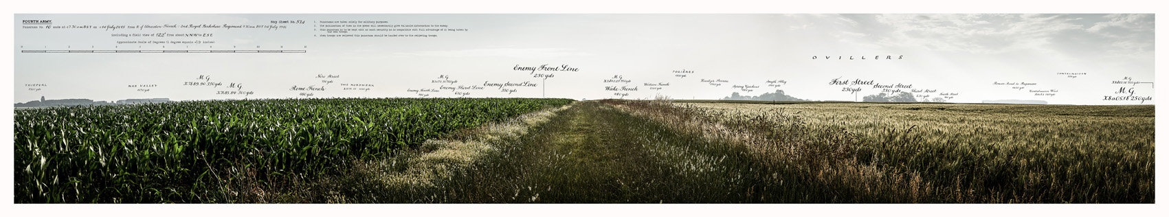PANORAMA NO.10: OVILLERS