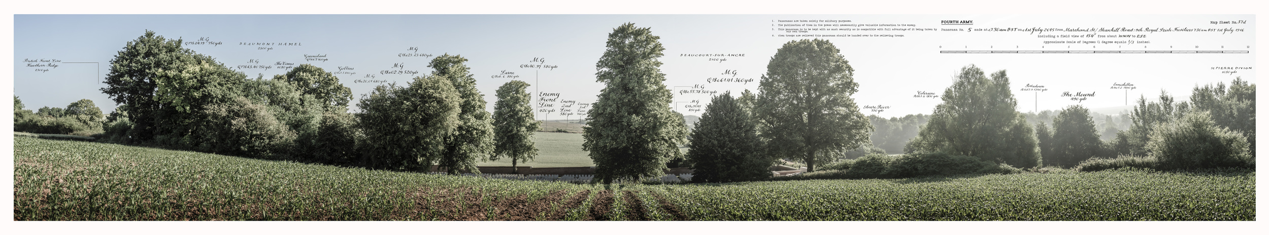 PANORAMA NO.5: THE ANCRE VALLEY