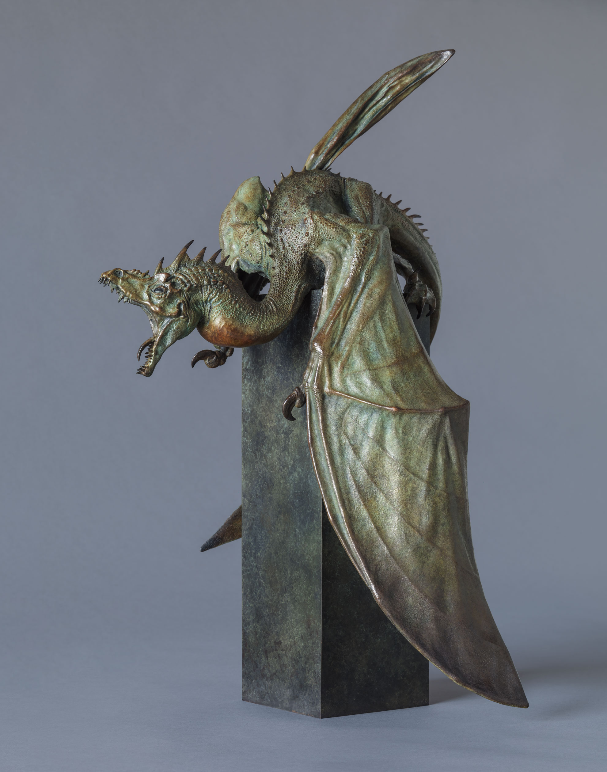 1. Firedrake Maquette by Nick Bibby, Edition of 12, 30 x 18 x 14inches (76 x 46 x 36cm).jpg