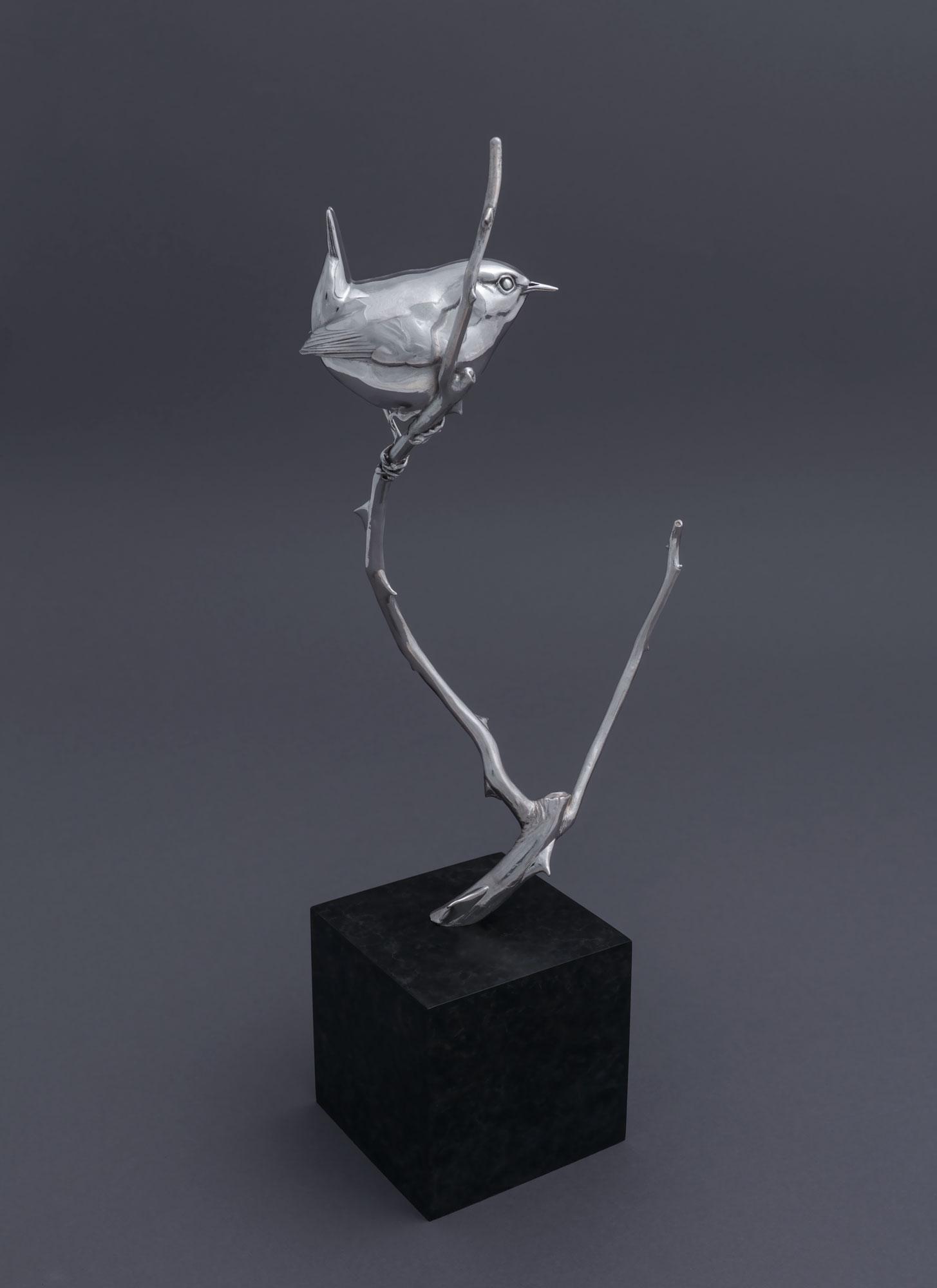 8.1 Silver Wren II by Nick Bibby, Edition of 25, 13 x 5 x 3.5inches (33 x 13 x 9cm).jpg