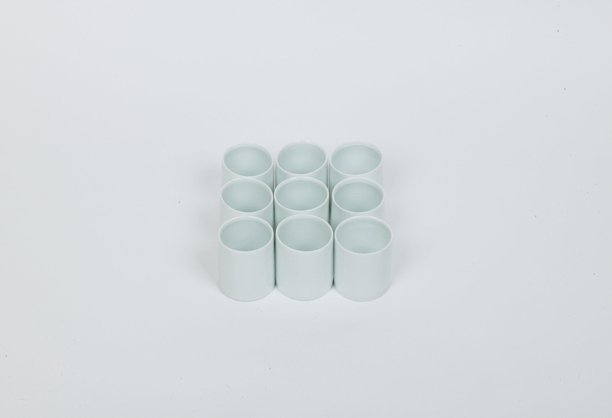 48a-f.White Porcelain Cup (1)
