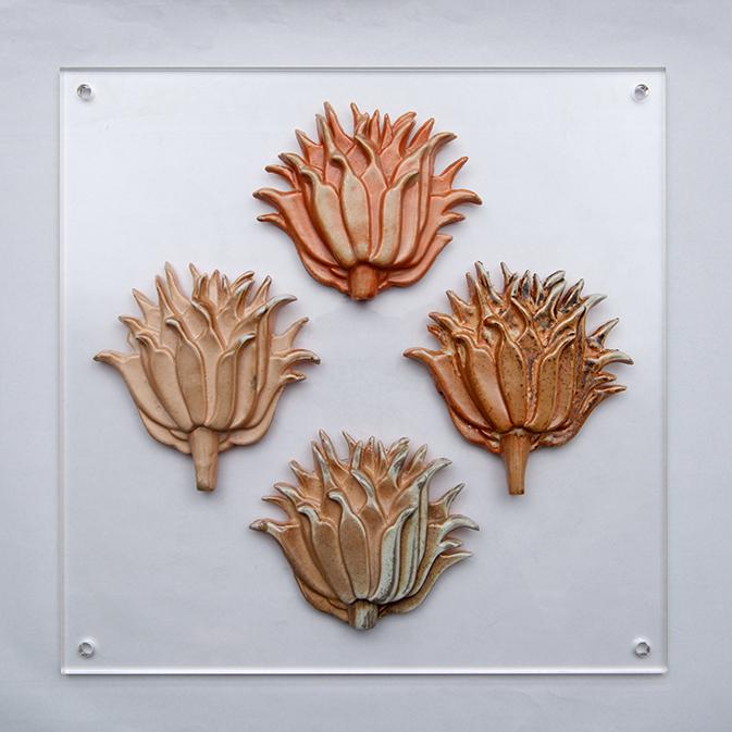 95.Botanical Structures Spikey Flower Heads