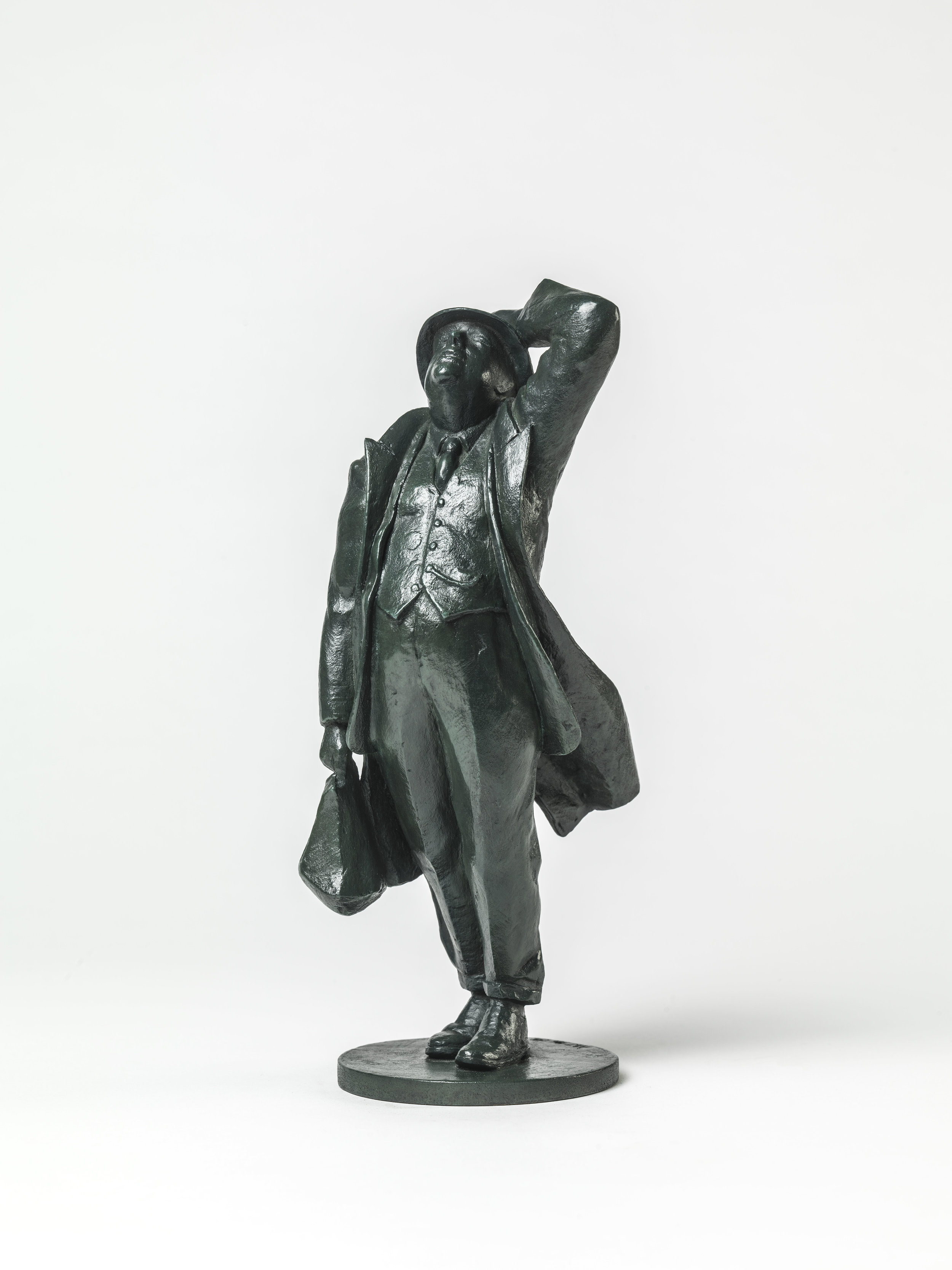 40. John Betjeman maquette.
