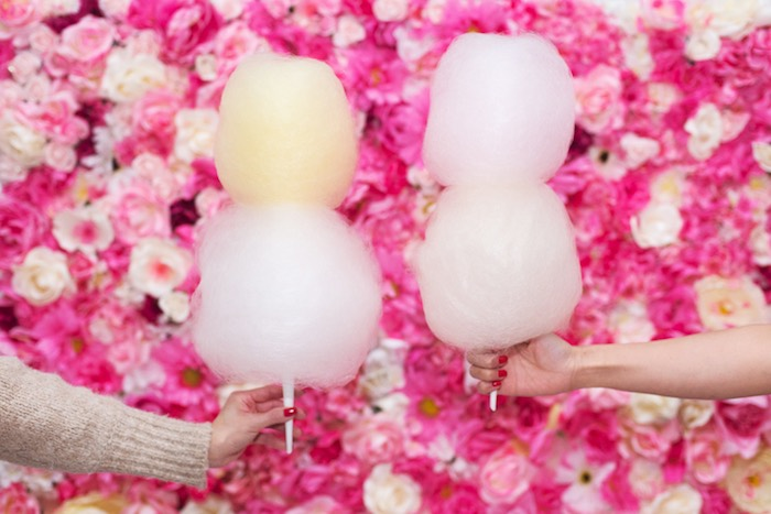 August In Bloom - Double cotton candy puffs - Fancy Pufs celebrates their first birthday
