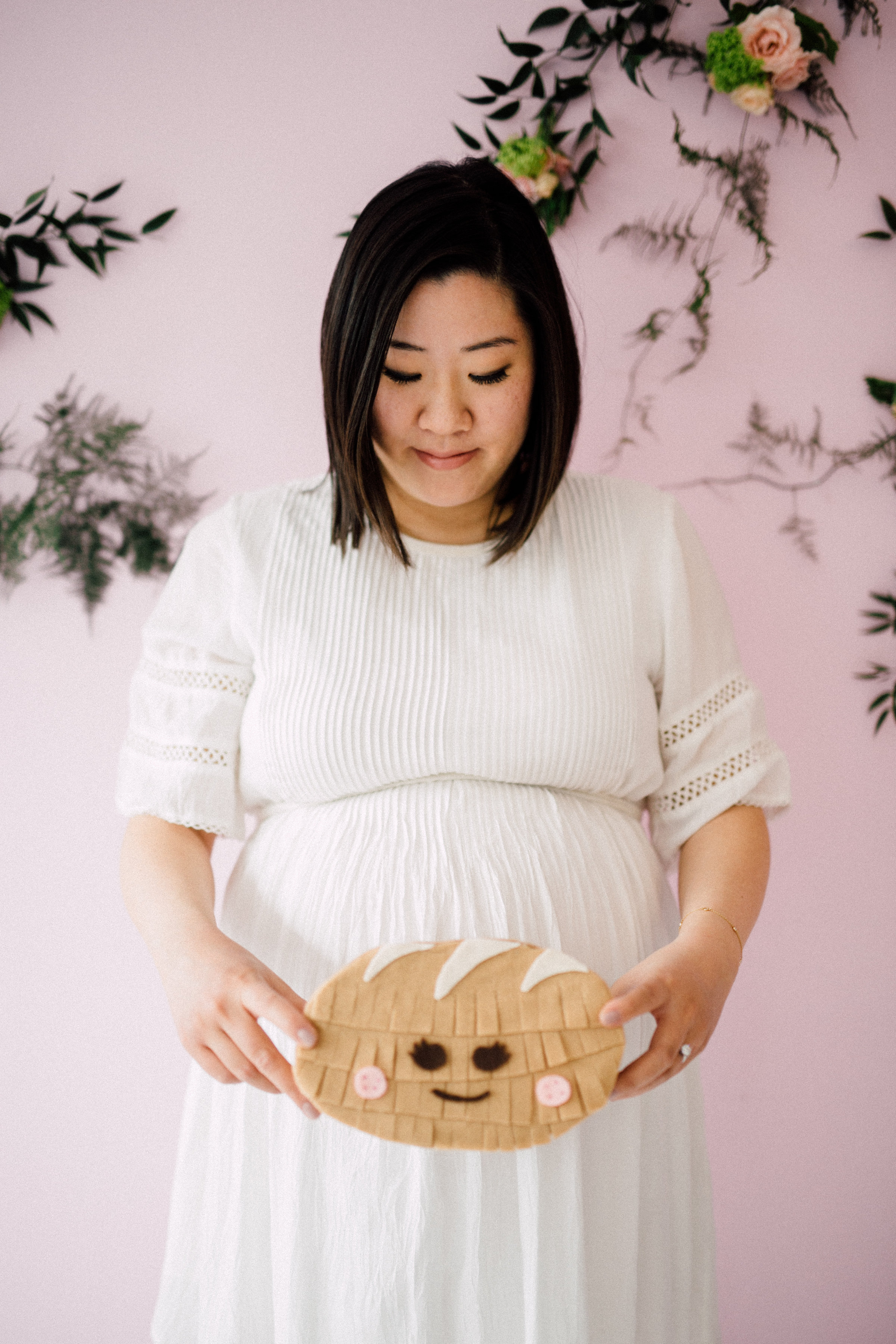 August In Bloom - Bun mini pinata - Bun In The Oven Baby Shower (Style Me Pretty & SMP Living)