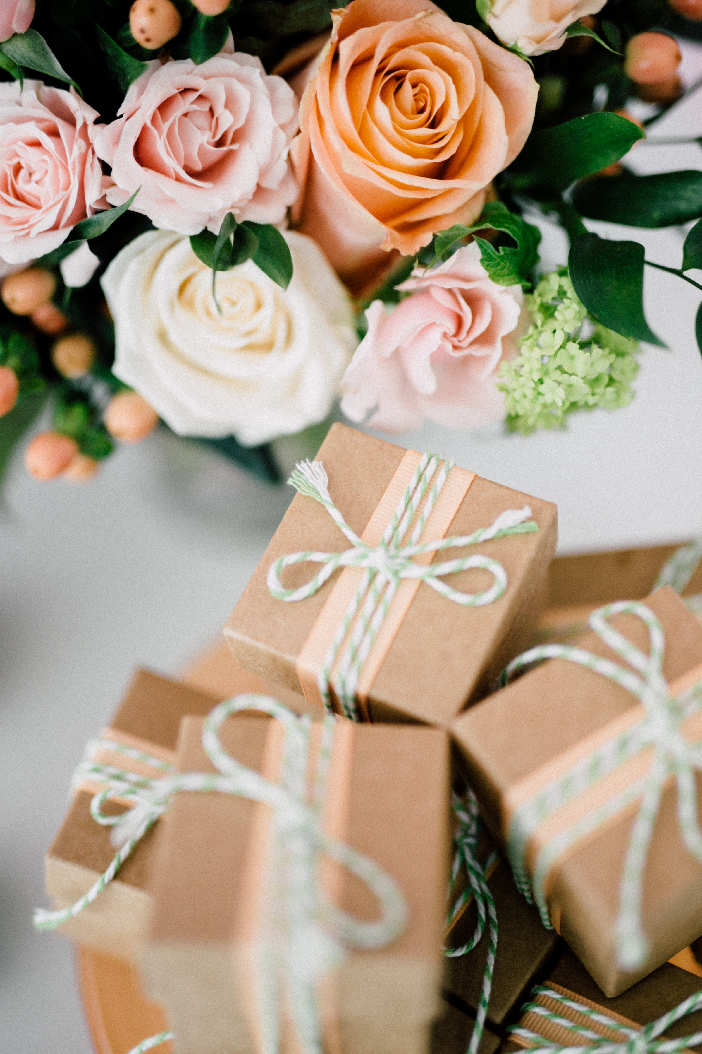 August In Bloom - Favout boxes - Bun In The Oven Baby Shower (Style Me Pretty & SMP Living)