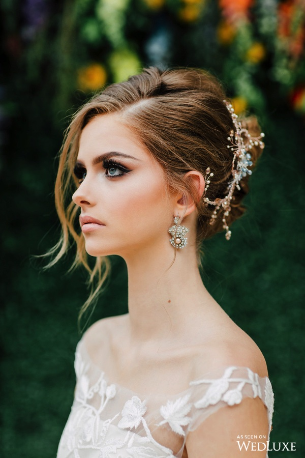August In Bloom - Bride beauty - Dreaming of Oscar (Wedluxe)